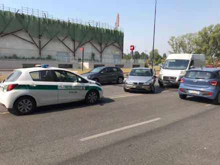 NICHELINO - Incidente stradale: marito e moglie feriti. La donna sul furgone dovrà pagare 5000 euro di multa