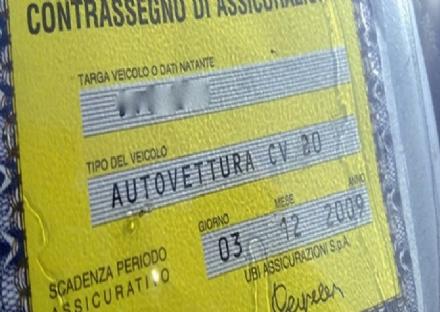 RIVALTA - Giro di vite sulle auto irregolari: sequestrato un veicolo