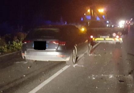 NICHELINO - Grave incidente nella serata sulla Stupinigi-Orbassano: due feriti e strada chiusa - LE FOTO -