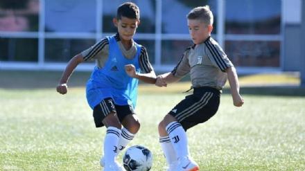 CALCIO - A Vinovo, nella Juventus, cè un altro Cristiano Ronaldo: è il figlio di Cr7