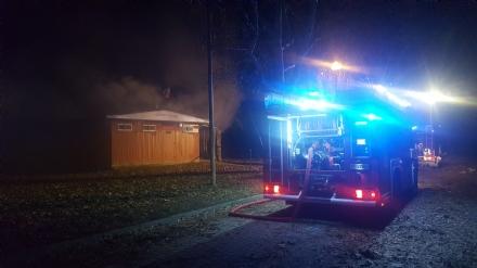 MONCALIERI - Un incendio distrugge lex centro anziani di Lungo Po Abellonio