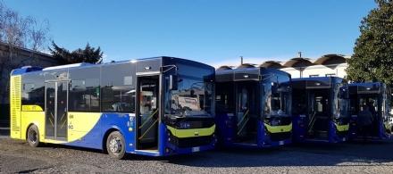 MONCALIERI - Arrivano autobus nuovi per la linea 70 che si collega a Torino