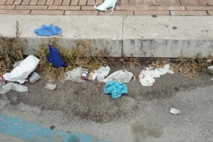 NICHELINO - Per la giornata dellambiente, maxi raccolta di mascherine e guanti abbandonati
