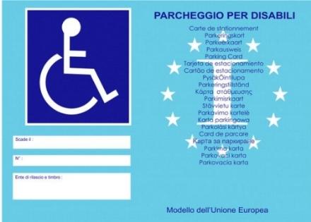 REGIONE - Unico registro per i contrassegni dei veicoli dei disabili.