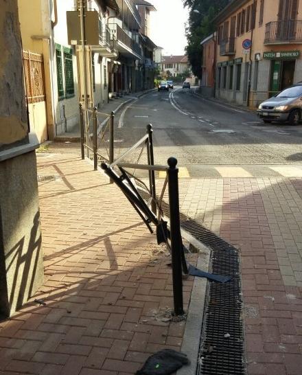 CANDIOLO - Si schianta col suv e fugge, rintracciato a Torino: era già pronto alla riparazione