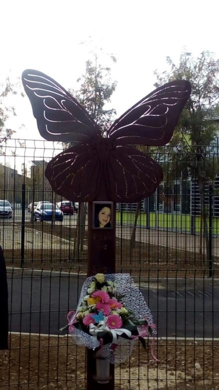 BEINASCO - Una farfalla per ricordare Ilenia Piscitelli