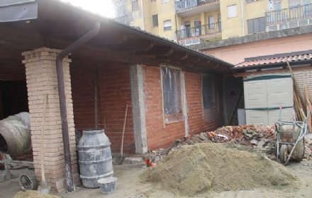 NICHELINO - Villa abusiva scoperta dalla polizia locale