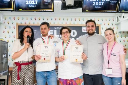 ORBASSANO - Una gelataia orbassanese alle finali del campionato europeo del gelato