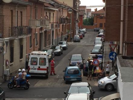 MONCALIERI - Incidente in via Fiume: un ferito