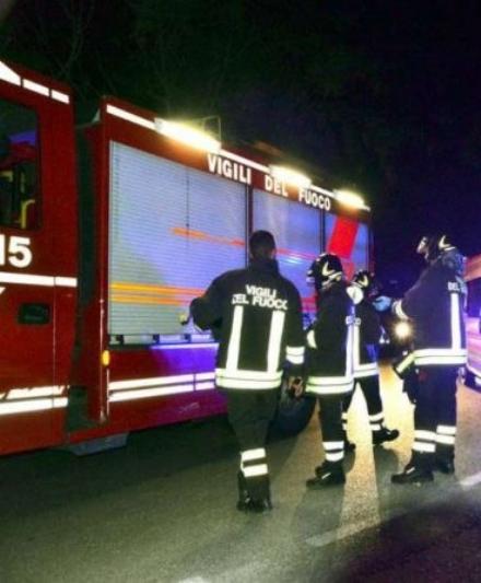 CARIGNANO - Cumuli di rifiuti bruciati sulla provinciale 20: nuovo caso nella notte