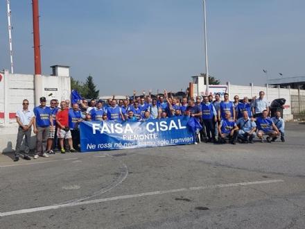 MONCALIERI - Il 6 luglio sciopero e corteo dei dipendenti Ca.Nova, la Faisa-Cisal invita a sfilare anche i cittadini