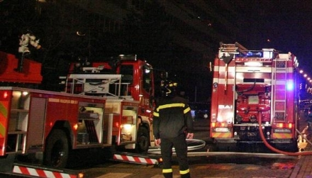 RIVALTA - Tre auto a fuoco nella notte in via Fratelli Bandiera