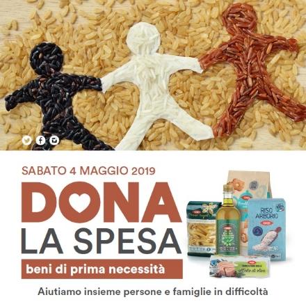 TORINO SUD - Torna «Dona la Spesa», la raccolta alimentare di primavera