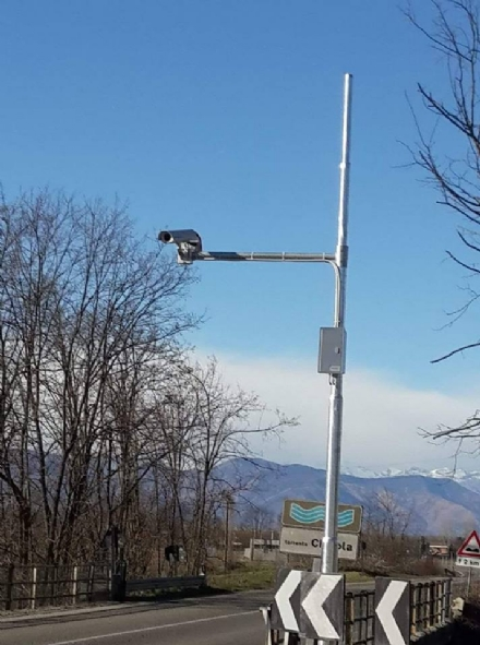 PIOBESI - Nuova postazione di video sorveglianza in via Galimberti