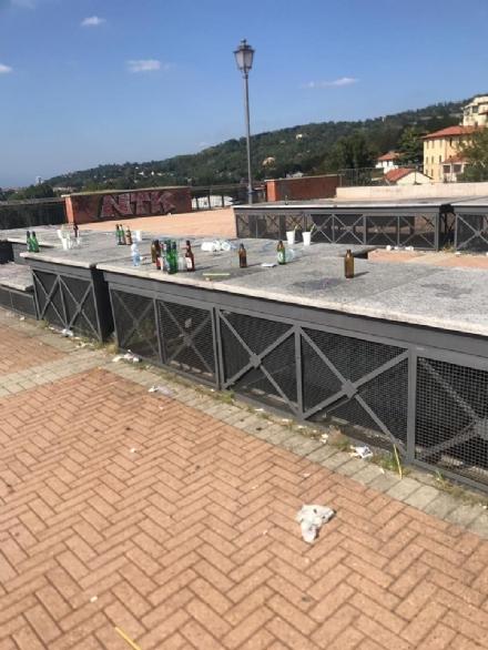 MONCALIERI - Parte una raccolta firme per linciviltà sulla piazzetta del multipiano