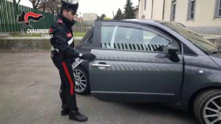 ORBASSANO - Scoperto il garage dei truffatori, arrestati dai carabinieri