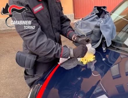 NICHELINO - Pusher africano arrestato dai carabinieri con 220 ovuli di droga