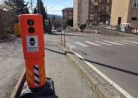 VINOVO - Ripartono i controlli con il telelaser attraverso i box arancioni