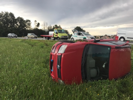 NICHELINO - Giornata di incidenti intorno a Stupinigi: tre feriti
