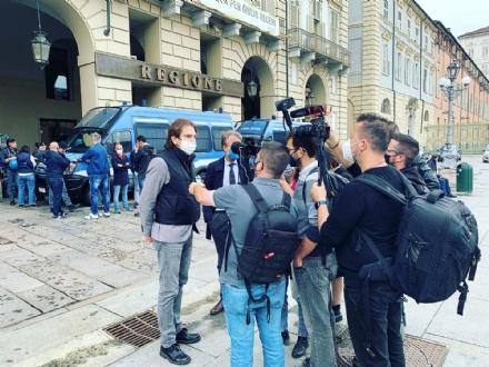 LAVORO - Sindaco e assessore di Nichelino a fianco degli operai dellex Embraco