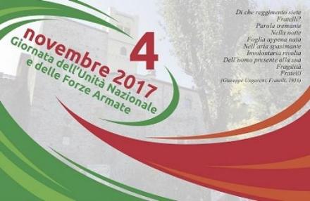 RIVALTA - Celebrazioni per la giornata dellUnità Nazionale e delle Forze Armate