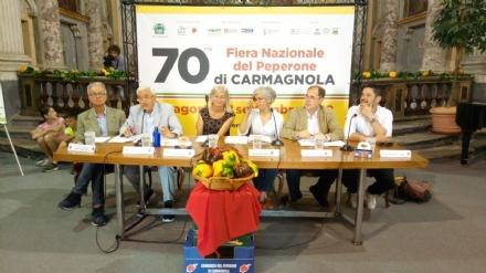 CARMAGNOLA - Presentata la 70 esima edizione della Fiera del Peperone