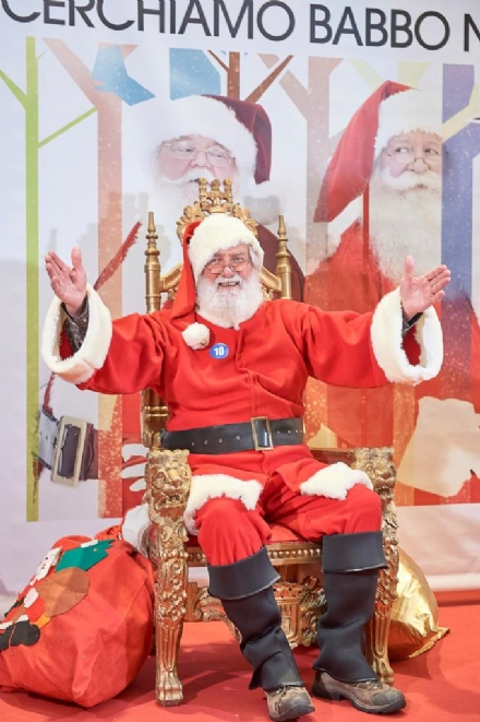 NICHELINO - È Luigi Secco il primo Babbo Natale di Mondojuve