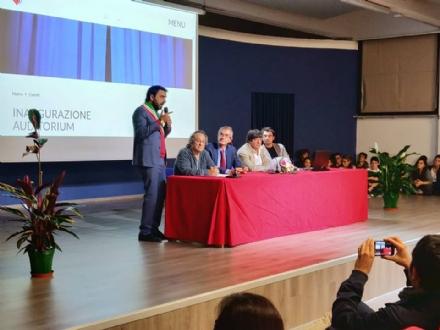MONCALIERI - Inaugurato il nuovo auditorium del Majorana