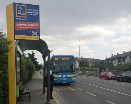 PIOSSASCO - Importunano passeggeri e conducente del bus: identificati dai carabinieri