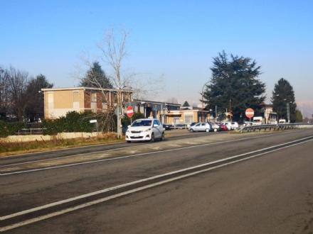LA LOGGIA - Sicurezza sulla provinciale 20: chiude lincrocio con via Carignano