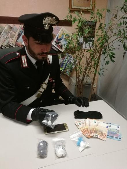 ORBASSANO - Arrestato con un etto di cocaina in auto