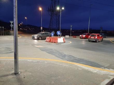 MONCALIERI - Dopo anni di incidenti, arriva la rotatoria di strada Palera