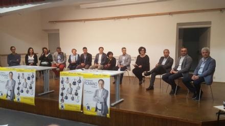 LA LOGGIA - Elezioni, Domenico Romano si presenta alla città con la lista