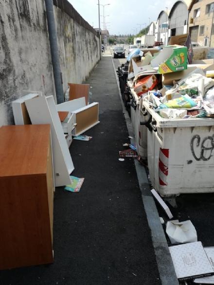 NICHELINO - Continua la vergogna degli abbandoni in via Torricelli