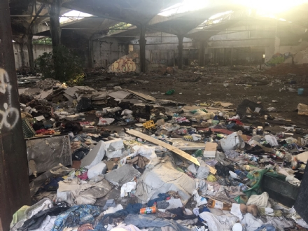 MONCALIERI - Viaggio dentro lex Firsat il giorno dopo lincendio - LE FOTO -