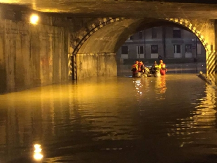 MONCALIERI - Alluvione, approvato il piano per il nuovo canale scolmatore