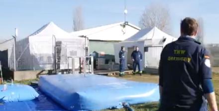 LA LOGGIA - Esercitazione della protezione civile in caso di maxi alluvione