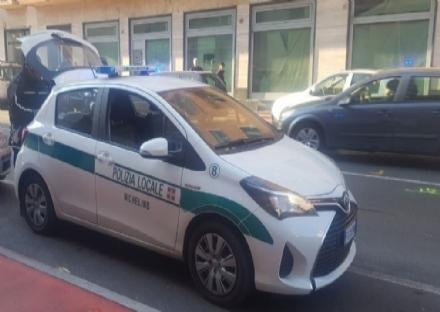 NICHELINO - Ennesima auto rubata e trovata senza parti di carrozzeria