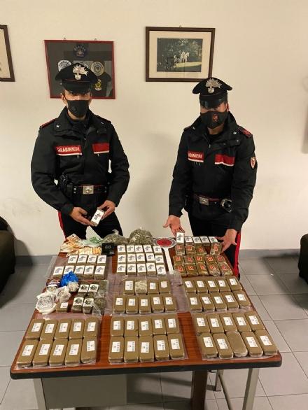 BEINASCO - Nascondeva 11 chili di droga in casa: arrestato