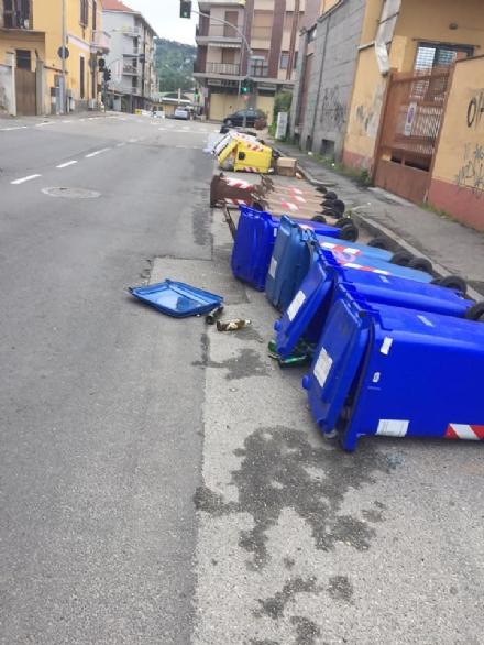 MONCALIERI - Vandali ubriachi devastano borgata Santa Maria