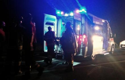 MONCALIERI - Schianto nella notte, muore commerciante di Trofarello. Grave infermiera dellospedale