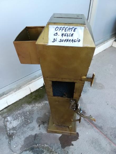 ORBASSANO - Ritrovata una bussola per le offerte, rubata in una chiesa