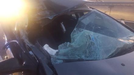 NICHELINO - Incidente in tangenziale allalba: due feriti