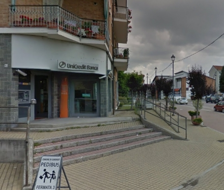 CANDIOLO - Chiude la filiale Unicredit in paese, il Comune protesta