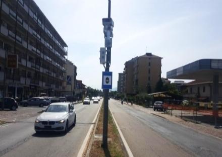 BEINASCO - Da oggi riacceso lautovelox su strada Torino a Fornaci