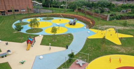 MONCALIERI - Inaugurato il nuovo giardino della Luna a Borgo San Pietro