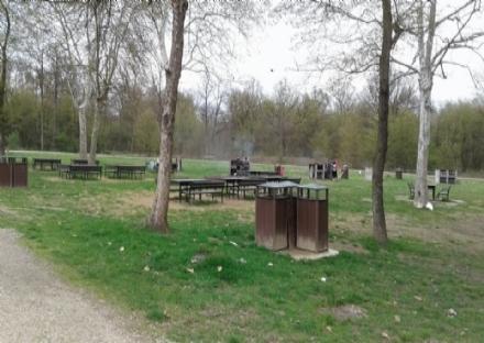 NICHELINO - Un presidio quotidiano al parco Boschetto per evitare assembramenti