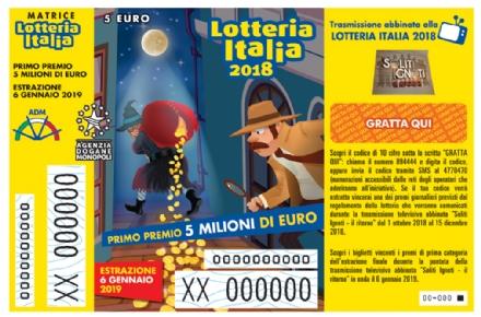 NICHELINO-PIOSSASCO - Lotteria Italia: estratti due biglietti vincenti da 25 mila euro. Caccia ai vincitori