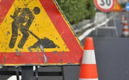 BEINASCO - Lavori: chiusura di una corsia di marcia di strada Borgaretto