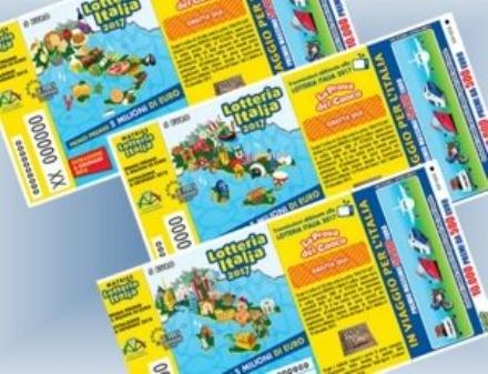 CARMAGNOLA - Venduto un biglietto vincente della Lotteria Italia